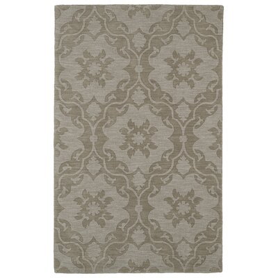 Cotswold Light Brown Solid Area Rug Rug Size: 5 x 8