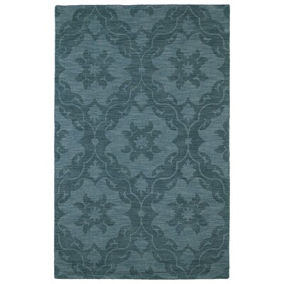 Cotswold Turquoise Solid Aera Rug Rug Size: Rectangle 96 x 136