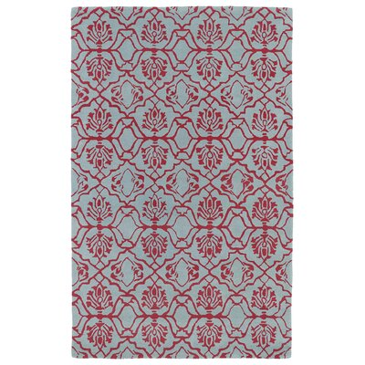 Corine Pink Area Rug Rug Size: Rectangle 8 x 11