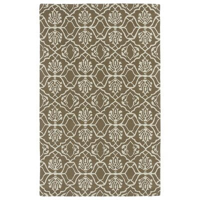 Corine Light Brown Area Rug Rug Size: Rectangle 3 x 5