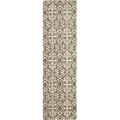 Corine Light Brown Area Rug Rug Size: Runner 23 x 8