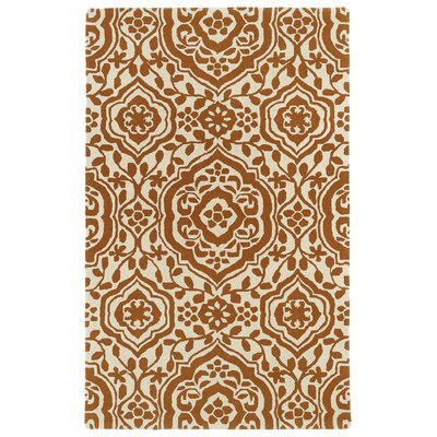 Corine Orange Area Rug Rug Size: Rectangle 96 x 13