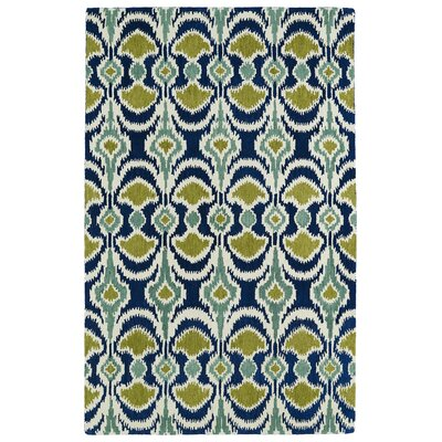 Anns Blue/Green Area Rug Rug Size: 9 x 12