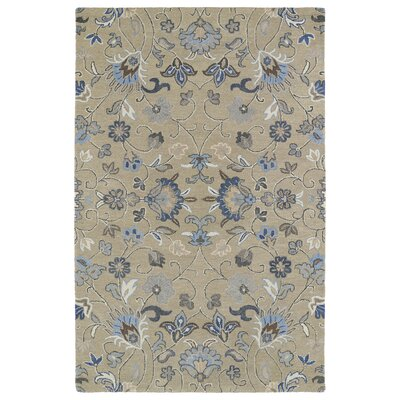 Casper Light Brown Area Rug Rug Size: Rectangle 4 x 6