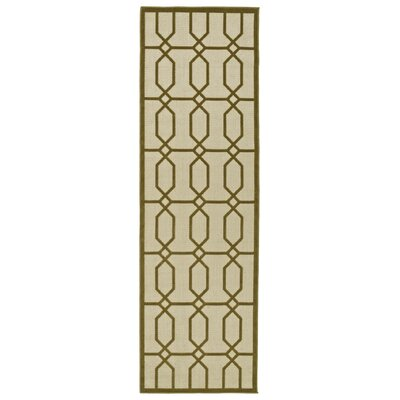 Covedale Hand-Woven Brown Indoor/Outdoor Area Rug Rug Size: Runner 26 x 71