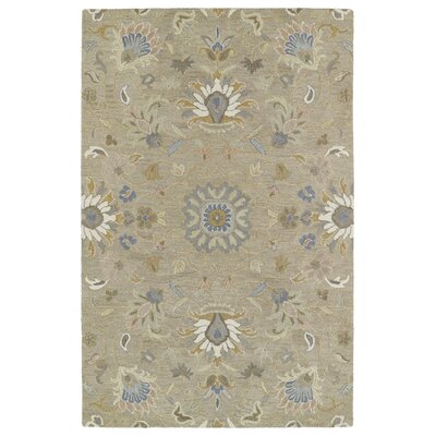 Casper Light Brown Area Rug Rug Size: 2 x 3