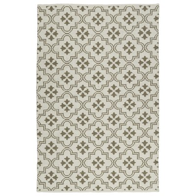 Covington Cream/Taupe Indoor/Outdoor Area Rug Rug Size: 3 x 5