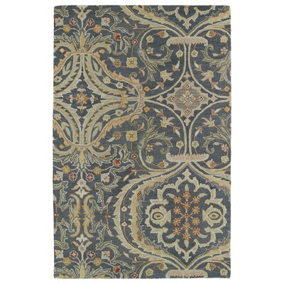 Casper Blue Area Rug Rug Size: Rectangle 10 x 14
