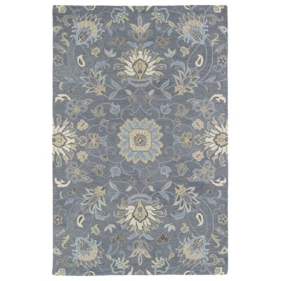Casper Graphite Blue Area Rug Rug Size: Rectangle 2 x 3