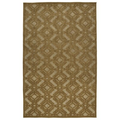 Covedale Light Brown Indoor/Outdoor Area Rug Rug Size: Rectangle 88 x 12