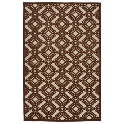 Covedale Terracotta Indoor/Outdoor Area Rug Rug Size: Rectangle 21 x 4