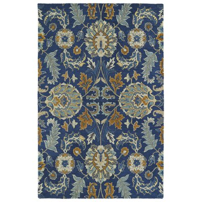 Casper Blue Area Rug Rug Size: Rectangle 4 x 6