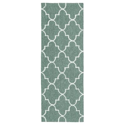 Cowan Hand-Tufted Mint Indoor/Outdoor Area Rug Rug Size: Rectangle 4 x 6