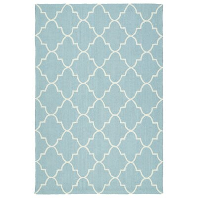 Cowan Blue Indoor/Outdoor Area Rug Rug Size: 9 x 12