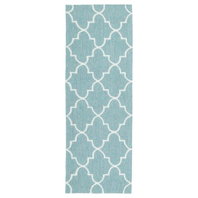 Cowan Blue Indoor/Outdoor Area Rug Rug Size: Runner 2 x 6