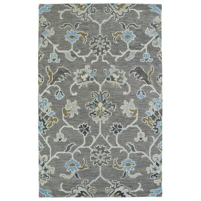 Casper Gray Tufted Wool Area Rug Rug Size: Rectangle 8 x 10