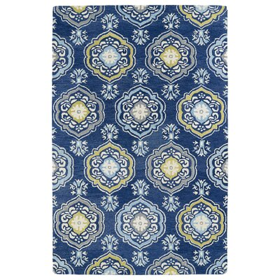 Casper Blue Area Rug Rug Size: Rectangle 8 x 10