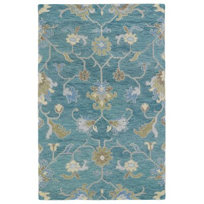 Casper Blue Area Rug Rug Size: Rectangle 9 x 12