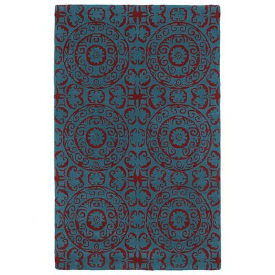 Corine Peacock Area Rug Rug Size: Rectangle 3 x 5