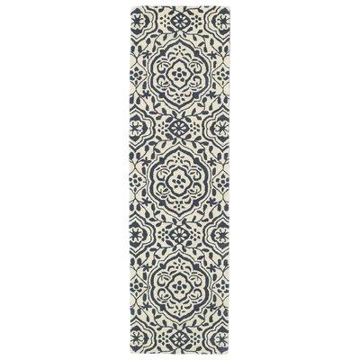 Corine Grey Area Rug Rug Size: Runner 23 x 8
