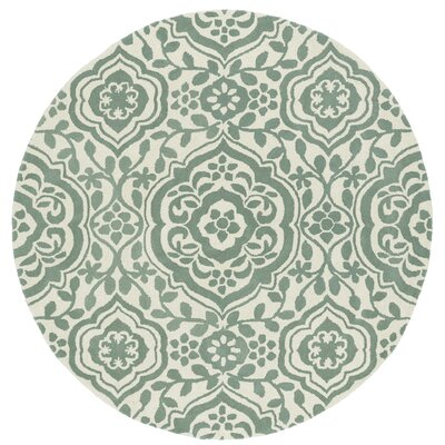 Corine Hand-Tufted  Mint / Ivory Area Rug