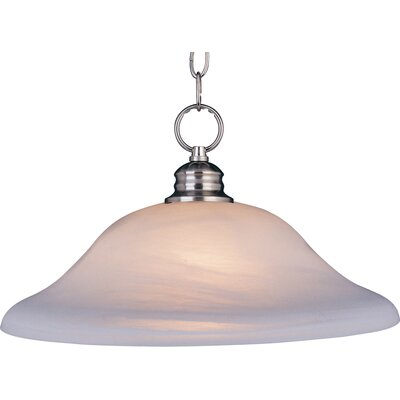 Cranbrook 1-Light Pendant Finish: Satin Nickel