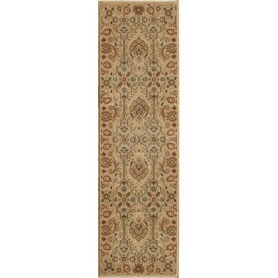 Crescent Ivory Area Rug Rug Size: Rectangle 53 x 76