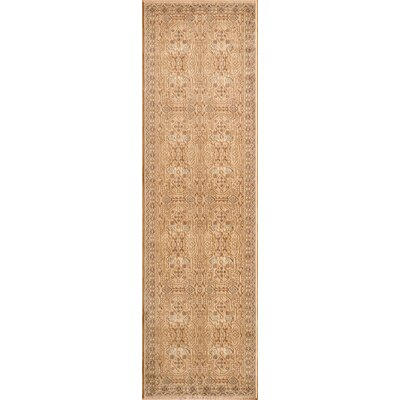 Crescent Ivory Area Rug Rug Size: Rectangle 311 x 57