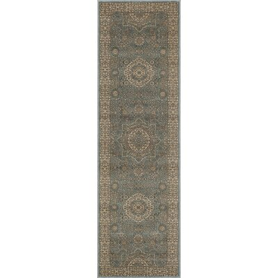 Crescent Sage Area Rug Rug Size: Rectangle 53 x 76