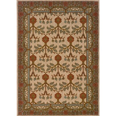 Crossreagh Beige Area Rug Rug Size: Rectangle 310 x 55