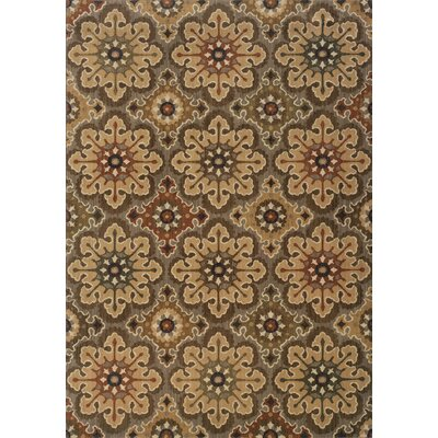 Crownfield Beige Area Rug Rug Size: Rectangle 67 x 96