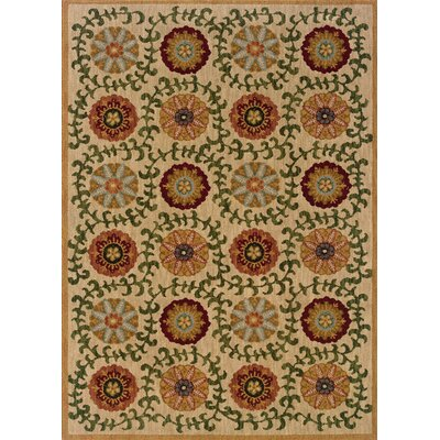 Crossreagh Beige Area Rug Rug Size: Rectangle 910 x 129