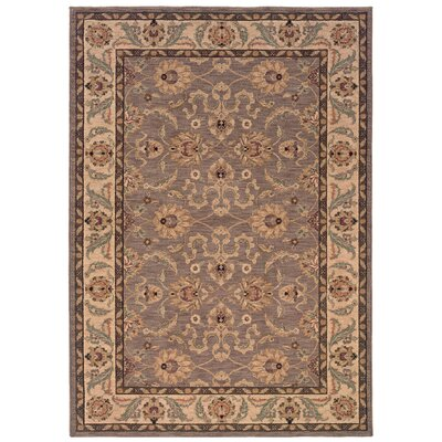 Cullman Grey/Ivory Area Rug Rug Size: Rectangle 310 x 55