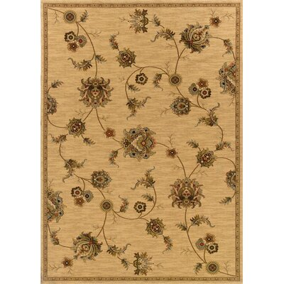 Currahee Beige/Gray Area Rug Rug Size: Rectangle 53 x 79