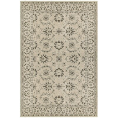 Cynthiana Ivory/Gray Area Rug Rug Size: Rectangle 910 x 1210