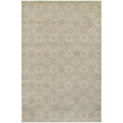 Cynthiana Beige/Ivory Area Rug Rug Size: Rectangle 910 x 1210