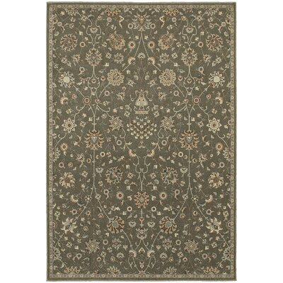 Derrymore Gray Area Rug Rug Size: Rectangle 310 x 55