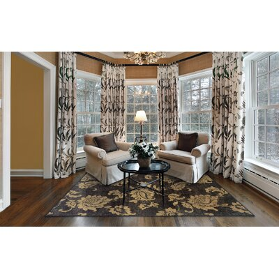 Donellan Black/Beige Area Rug Rug Size: Rectangle 310 x 55