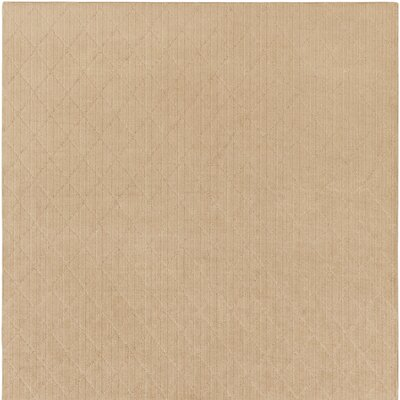 Huxley Beige Indoor/Outdoor Area Rug Rug Size: Square 6'