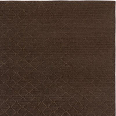 Huxley Brown Indoor/Outdoor Area Rug Rug Size: Square 6