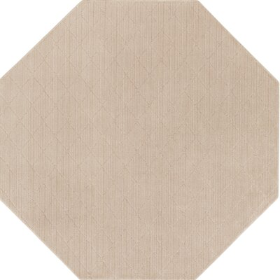 Huxley Beige Indoor/Outdoor Area Rug Rug Size: Octagon 6