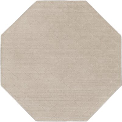 Huxley Gray Indoor/Outdoor Area Rug Rug Size: Octagon 10