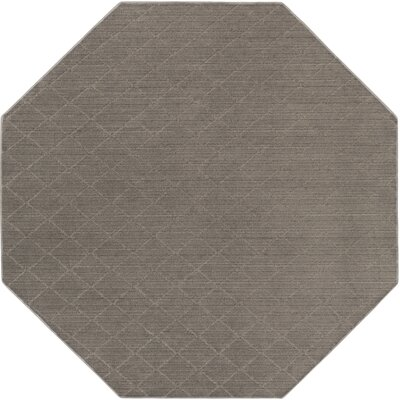 Huxley Gray Indoor/Outdoor Area Rug Rug Size: Octagon 4