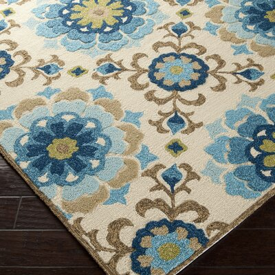Natalia Pool Indoor/Outdoor Rug Rug Size: 33 x 53