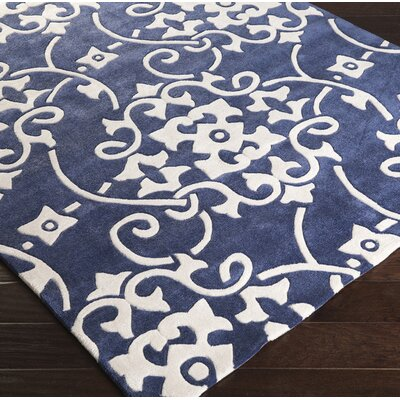Windsor Hand-Tufted Navy/White Area Rug