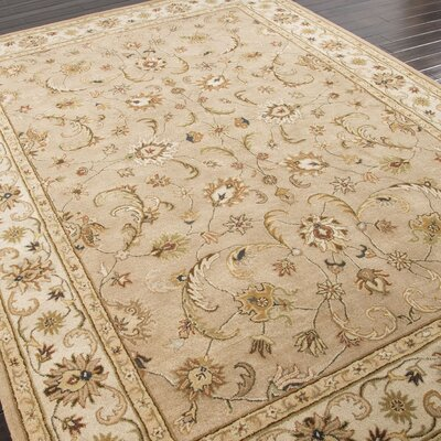 Trinningham Taupe/Ivory Rug Rug Size: 8 x 10