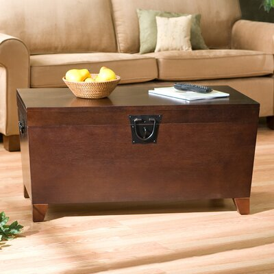 Charlton Home Bischoptree Storage Trunk Coffee Table
