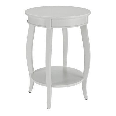Axtell End Table Color: White