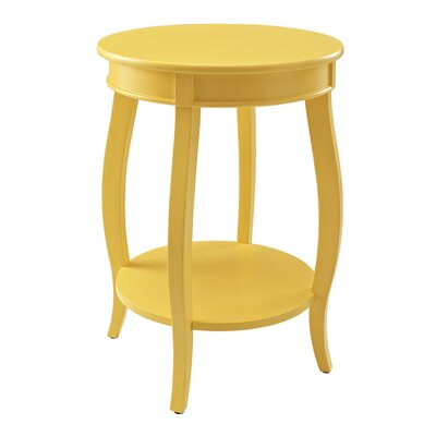 Axtell End Table Color: Yellow