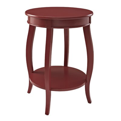 Axtell End Table Color: Red